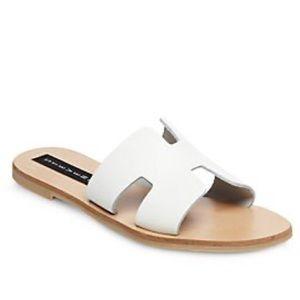 Steven by Steve Madden White Greece Sandals